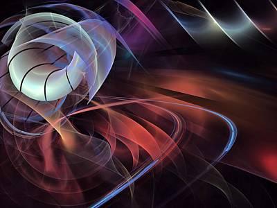 Softball Mixed Media - Sealife-center-panel-1bb by Bill Campitelle