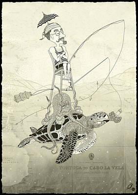 Cauliflower Digital Art - Seaman's Holidays by Ruta Dumalakaite