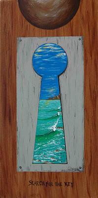 Painting - Search For The Key by Paul Carter