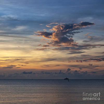 seascape Asia Print by Antony McAulay