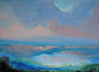 Seascape Calm Original by Patricia Kimsey Bollinger