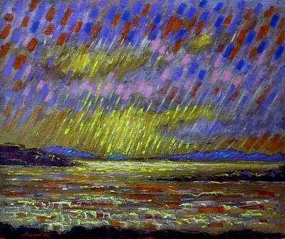 Perspective Painting - Seascape   II by John  Nolan