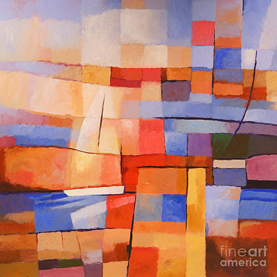 Colorfields Painting - Seascape Image by Lutz Baar