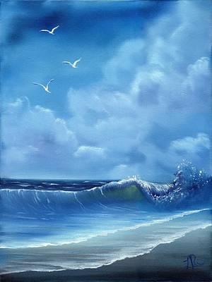 Lisa Rodriguez Painting - Seascape by Lisa Rodriguez