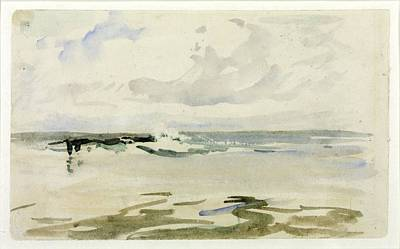 Nathaniel Painting - Seascape by Nathaniel Hone