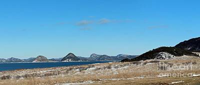Seascape - Panorama Print by Barbara Griffin