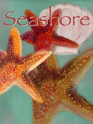 Seashore Poster Print by Christine Fournier