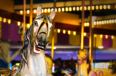 Seaside Heights Digital Art - Seaside Heights Carousel by Jerry Fornarotto