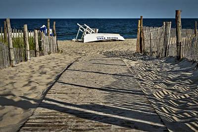 Sea Photograph - Seaside Park New Jersey Shore by Susan Candelario