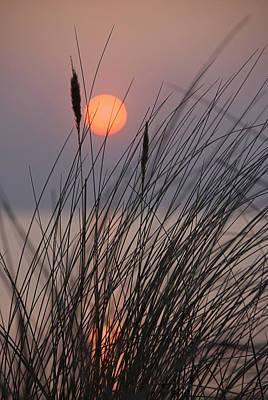 Seaside Sunset Print by Joachim G Pinkawa