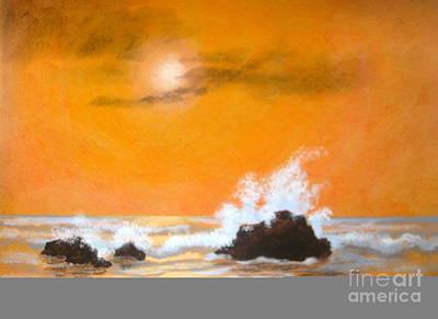 Seaside  Symphony  Print by Shasta Eone