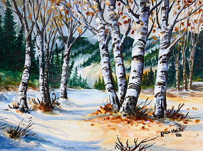 Painting - Seasonal Transition by Karon Melillo DeVega