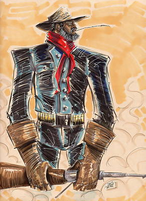 Seasoned Buffalo Soldier Original by Tu-Kwon Thomas