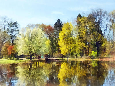 Landscape Photograph - Seasons - Spring In The Park by Susan Savad