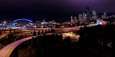 Washington Photograph - Seattle Bend by Chad Dutson