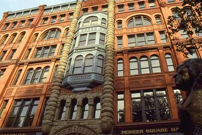 Seattle Pioneer Square - Architecture Photo Print by Art America - Art Prints - Posters - Fine Art