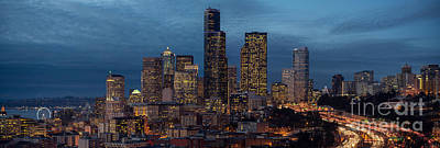 The Link Photograph - Seattle Skyline From Rizal by Mike Reid