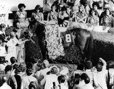 Seattle Slew Horse Racing #04 Print by Retro Images Archive