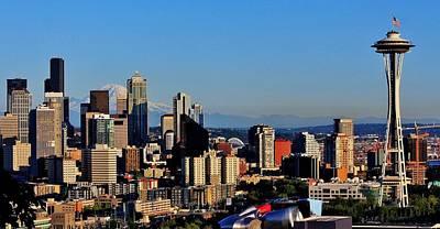 Seattle Summer Original by Benjamin Yeager