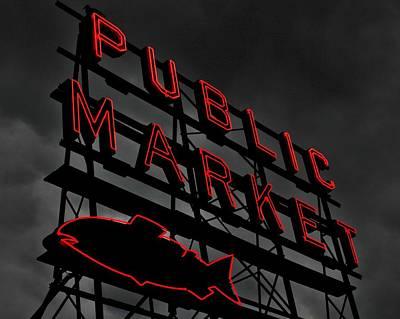 Seattle's Public Market Original by Benjamin Yeager