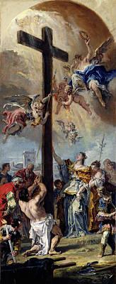 Sebastiano Ricci, The Exaltation Of The True Cross Print by Litz Collection