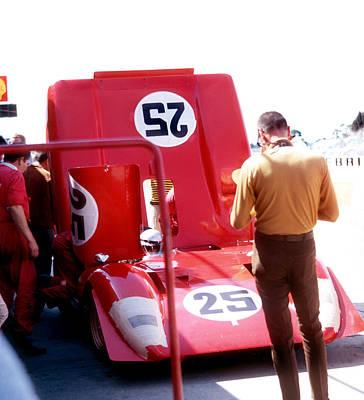 Andretti Photograph - Sebring 69 by SJ Crown