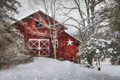 Pennsylvania Barns Digital Art - Secluded by Lori Deiter