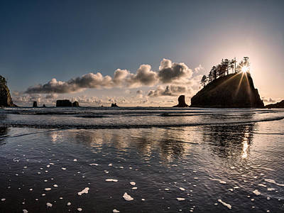 Best Ocean Photograph - Second Beach Light And Current by Leland D Howard