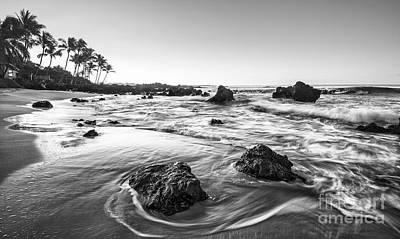 Secret Beach Morning Print by Jamie Pham