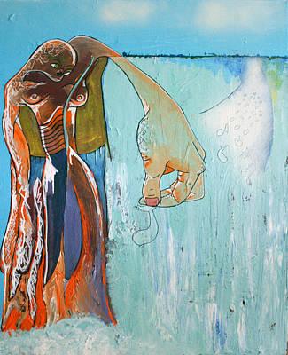 Secret Of The Horizon Print by Sanne Rosenmay
