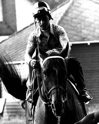 Secretariat Photograph - Secretariat Vintage Horse Racing #07 by Retro Images Archive
