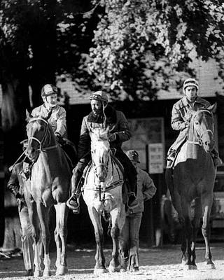 Secretariat Photograph - Secretariat Vintage Horse Racing #08 by Retro Images Archive