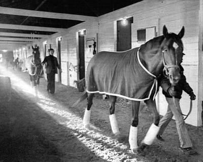 Secretariat Photograph - Secretariat Vintage Horse Racing #10 by Retro Images Archive