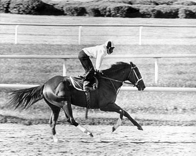 Secretariat Photograph - Secretariat Vintage Horse Racing #13 by Retro Images Archive