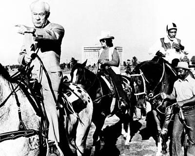 Secretariat Photograph - Secretariat Vintage Horse Racing #17 by Retro Images Archive