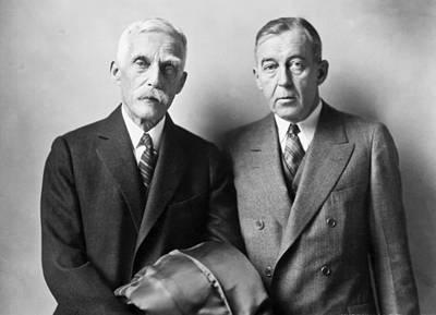 Washington D.c. Photograph - Secretary Andrew Mellon by Underwood Archives