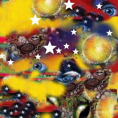 Concubine Digital Art - Secrets Of Patriots by Carol Jacobs