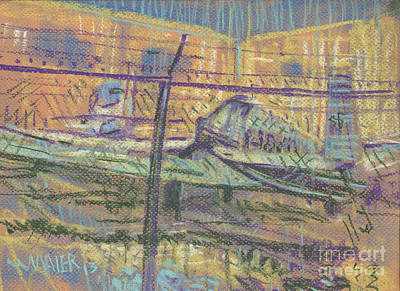 Secured Planes Original by Donald Maier
