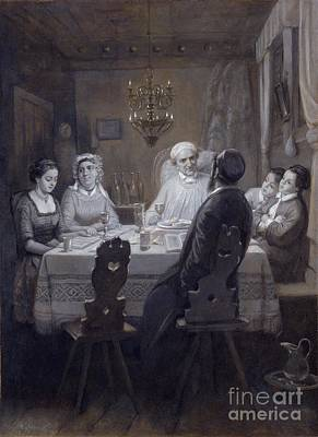 Orthodox Painting - Seder - The Passover Meal by Celestial Images
