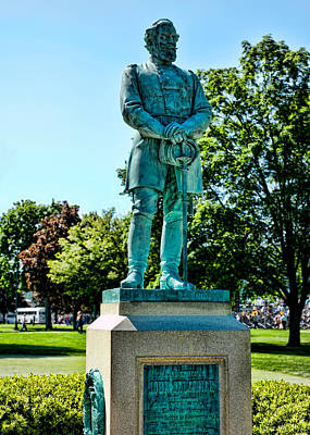 Sedgwick Monument At West Point Print by Dan McManus
