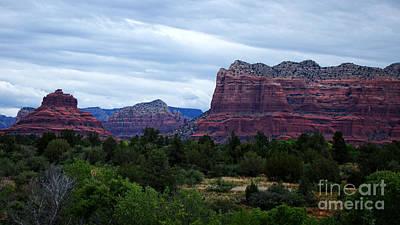 Grand Canyon Mixed Media - Sedona Arizona Reds by Beverly Guilliams