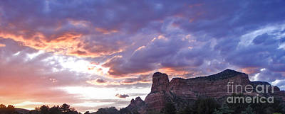 Sedona Arizona Sunset Print by Gregory Dyer