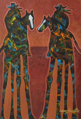 Sedona Sundown Print by Lance Headlee