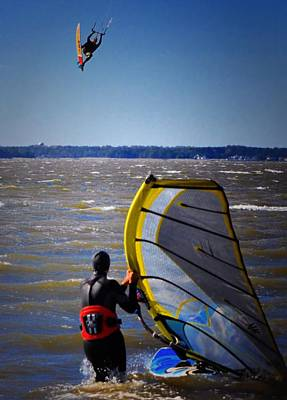 Kite Boarding Photograph - See Ya Roun by Robert McCubbin