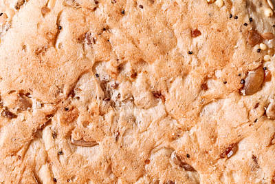 Granary Photograph - Seeded Bread by Tom Gowanlock