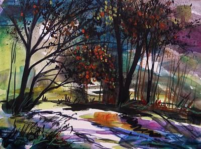 Luminous Drawing - Seems Enchanted by John  Williams