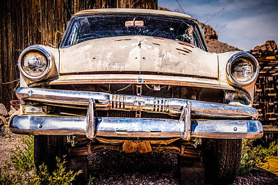 Antique Automobiles Photograph - Seen Better Days by  Onyonet  Photo Studios