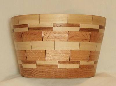 Segmented Bowl Turning-1 Print by Russell Ellingsworth