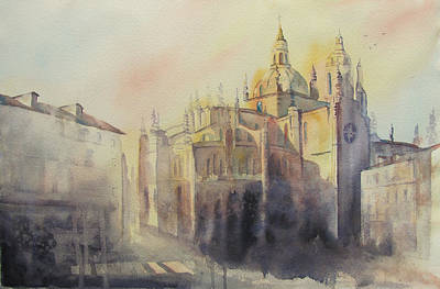 Segovia Light Print by Amanda Amend