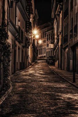 Segovia Predawn Original by Joan Carroll